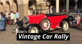Vintage Car Rally Kicks Off