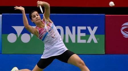 Carolina Marin, Carolina Marin news, Carolina Marin updates, All England Championships, All England Championships news, sports news, badminton, Indian Express