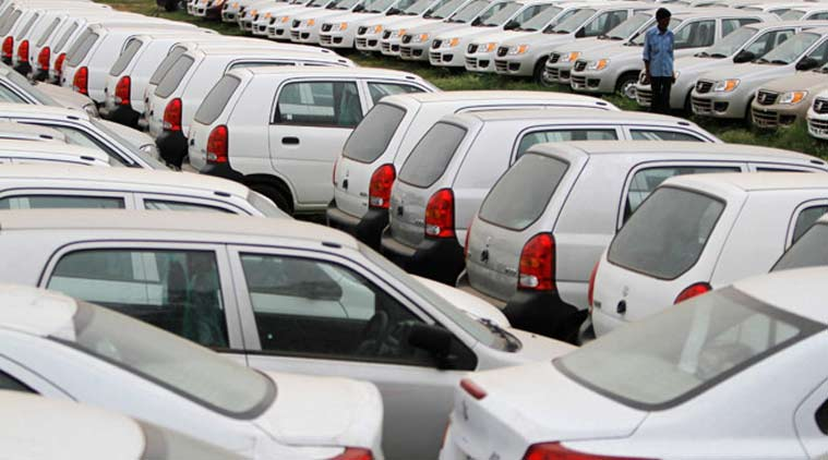 Domestic passenger vehicle sales declined, passanger vechile, automobile manufactures, Indian Express