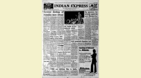 February 14, 1978, Forty Years Ago: Morarji Desai In Sydney
