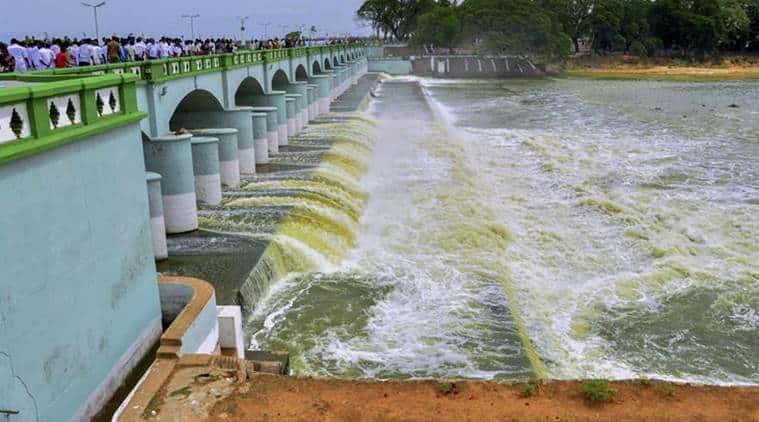 cauvery water dispute, karnataka, tamil nadu, dmk, jallikattu style protest, marina beach, cauvery river water, indian express