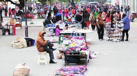 mohali vendors, mohali vendor zone, indian express, mohali news, mohali hawkers, mohali street vendors, chandigarh news, indian express