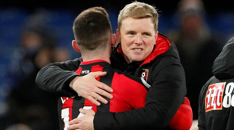 Bournemouth defeat Chelsea 3-0.