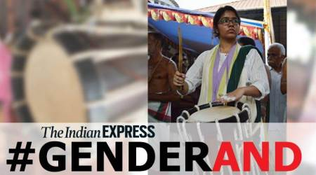 Chenda melam, Kerala, chenda instrument, Gender and, Indian Express Gender series, women players, indian express news