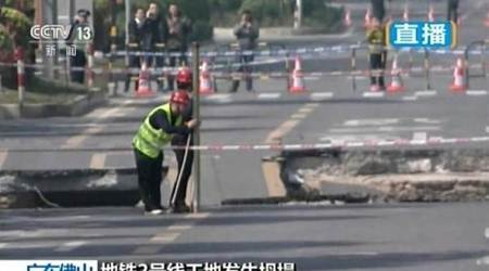Authorities: Eight dead at south China subway constructionsite
