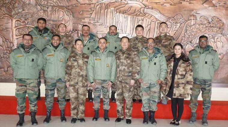 chinese army, indian army delegation meets chinese couterparts, people's liberation army, chushul, LAC, line of actual control, dokalam, chinese spring festival, indo china border, ladakh