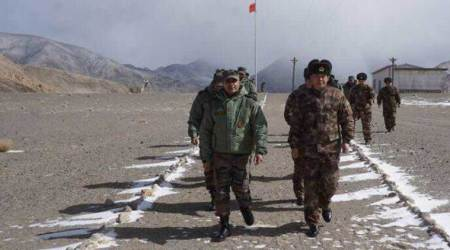Ceremonial border meeting held on the Chinese side in Ladakh