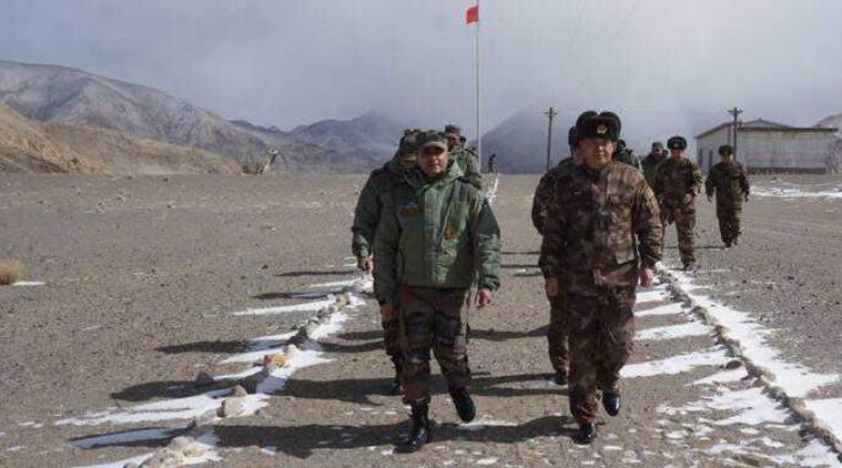 chinese army, indian army delegation meets chinese couterparts, people's liberation army, chushul, LAC, line of actual control, dokalam, chinese spring festival, indo china border