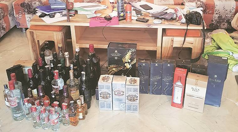 Raided former IPS officer's property, seized liquor, government documents, says CID