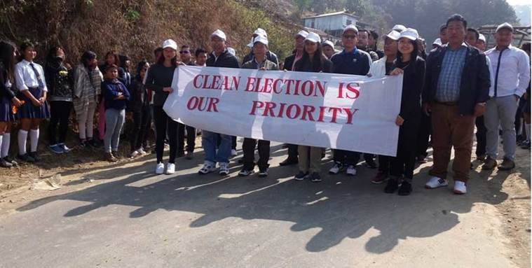 nagaland, nagaland assembly election, nagaland polls 2018, dimapur, north east india, north east news, india news, clean election campaign nagaland