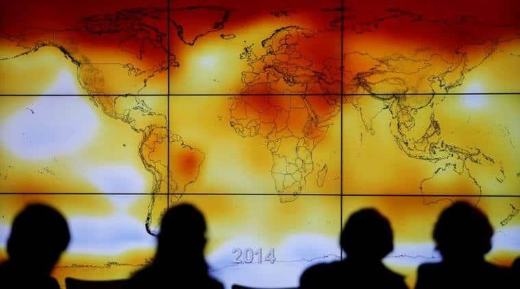 UN Paris Agreement, climate change. Stanford University, greenhouse gas emissions, Paris Climate Agreement, temperature cap levels, Columbia University, extreme weather events, climate commitments, global warming