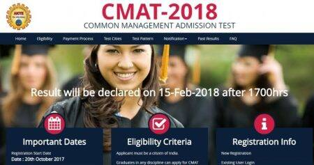 Released! Check CMAT 2018 results at aicte-cmat.in, merit list to be outsoon