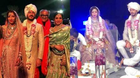 Mohit Marwah ties the knot with Antara Motiwala. See first photos and videos