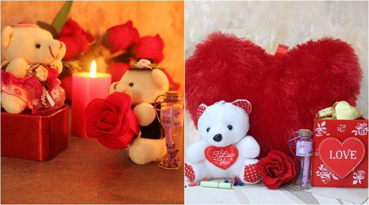 teddy day, happy teddy day, teddy day gifts, teddy bear gifts, teddy day gift ideas, velntines's day, valentines week, valentines day gifts, gifts for girlfriend, gifts for her, indian express