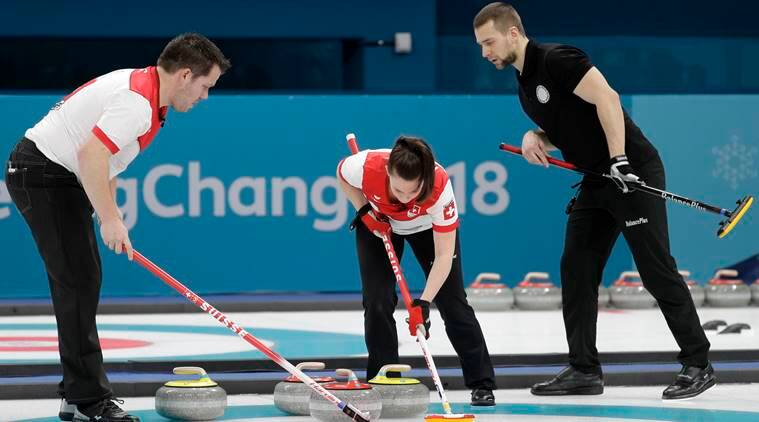 Switzerland curling winter olympics