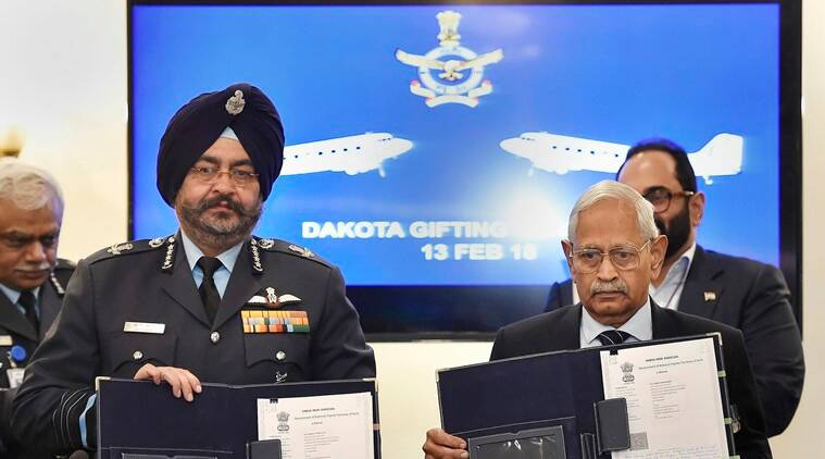 Douglas DC3 Dakota, Dakota, Royal Indian Air Force, Parashurama, India Air Force, hindon air base the dakota