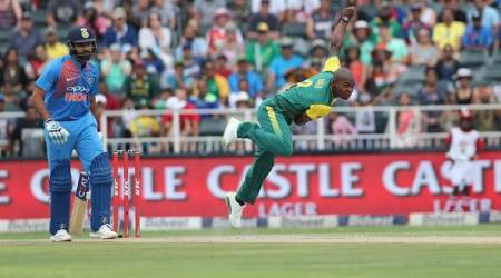 India vs South Africa, Ind vs SA, SA vs Ind, Ind vs SA 2nd T20I, Junior Dala, Junior Dala bowling, Junior Dala South Africa, sports news, cricket, Indian Express
