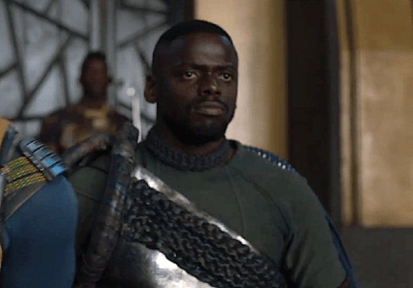 Daniel Kaluuya in black panther