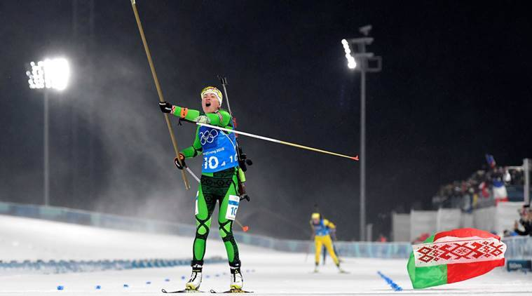 Belarus pushes through for relay gold