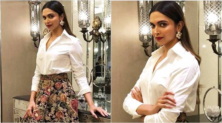 Deepika Padukone Shows Us How To Glam Up A Basic White