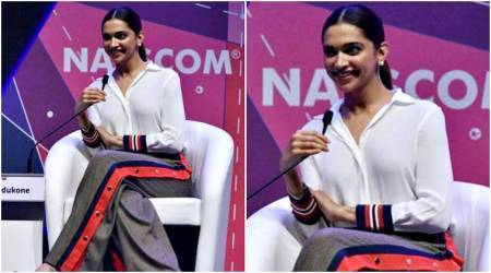 Deepika Padukone's sporty twist to her white shirt is perfect for a comfy day out