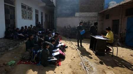 Delhi sealing drive: School sealed, children 'forced to study inopen'