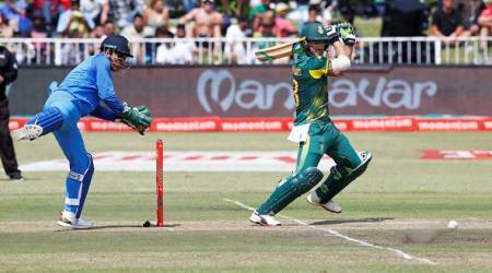 MS Dhoni, MS Dhoni India, India MS Dhoni, MS Dhoni wicket-keeping, MS Dhoni news, India tour of South Africa 2018, sports news, cricket, Indian Express