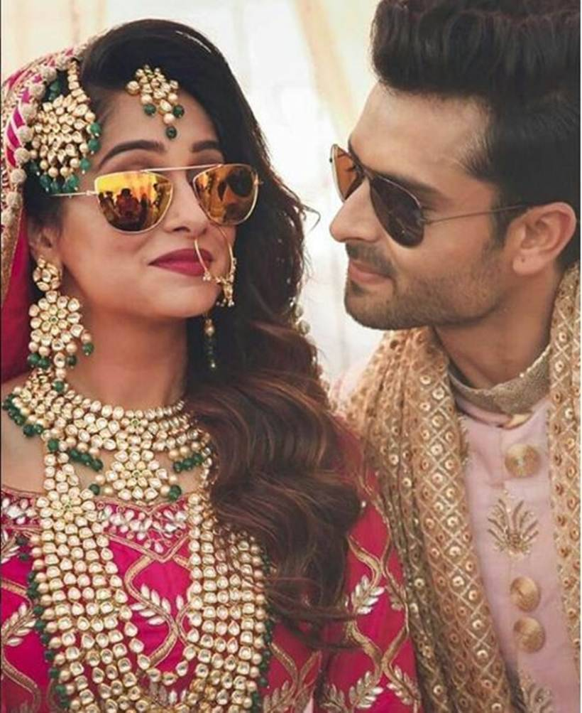 Dipika Kakar looks drop dead gorgeous as a bride at her wedding