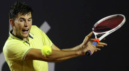 Top-seeded defending champion Dominic Thiem tumbles out of Rio Open