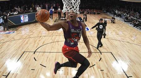 NBA All star weekend: Donovan Mitchell soars to dunk title, Devin Booker sets 3-point record