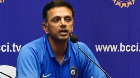 Rahul Dravid does his bit to keep the hype in check for U-19 World Cup winning team