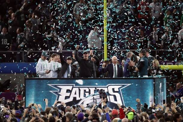 Philadelphia Eagles won the Super Bowl for the first time