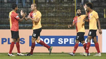 I-League: East Bengal hand Minerva Punjab first defeat at home, title race heatsup