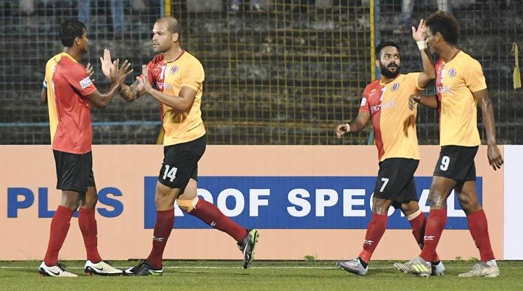 I-League: East Bengal hand Minerva Punjab first defeat at home, title race heats up