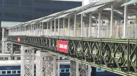 Months after stampede, new Elphinstone road foot-overbridge built by Armyopens