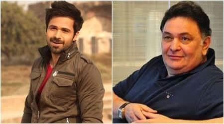 Emraan Hashmi and Rishi Kapoor