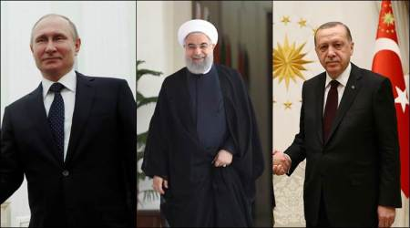 Presidents of Russia, Turkey, Iran to meet in Turkey in April: report