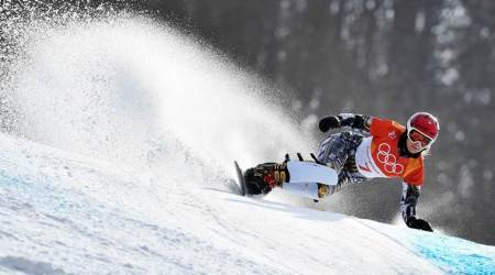 Winter Olympics 2018: Ester Ledecka creates history with parallel giant slalom gold
