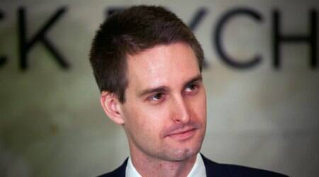 Snapchat app update, Snap Inc CEO Evan Spiegel, celebrity Snapchat content, Spiegel Snapchat update, photo messages, Snapchat active users, digital content creators, online petitions