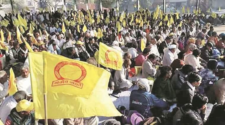 haryana farmers, haryana farmer groups, haryana farmers strike, haryana farmers protest, haryana village shutdown, haryana farmers agitation, Bharatiya Kisan Union Haryana