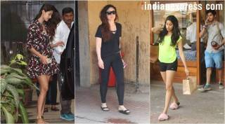 Celeb spotting: Kareena Kapoor, Disha Patani, Jahnvi Kapoor and more