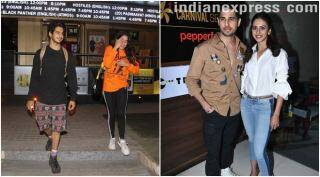 Celeb spotting: Janhvi Kapoor, Ishaan Khatter snapped in Juhu; Aiyaary stars Sidharth, Rakul seen at an event
