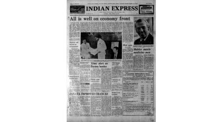 February 24 1978, old rare indian express newspapers, bp koirala, S Nijalingappa, janata party, punjab free naxals, indian express