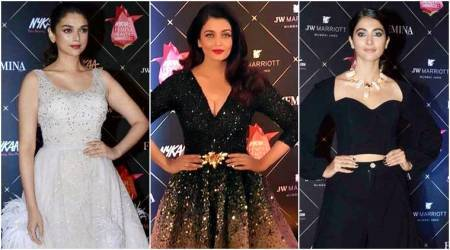 Aishwarya Rai Bachchan, Aditi Rao Hydari, Pooja Hegde: Watch these Bollywood celebs scorch the red carpet