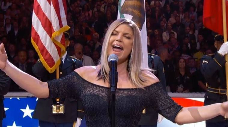 Fergie's rendition of national anthem at NBA All-Star Game was widely ridiculed