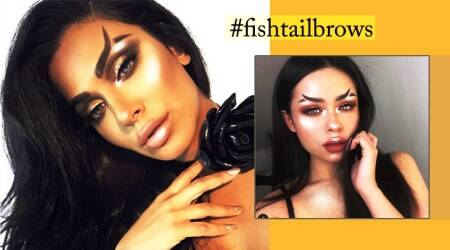 Fishtail brows are the latest Instagram beauty trend in 2018 for you totry