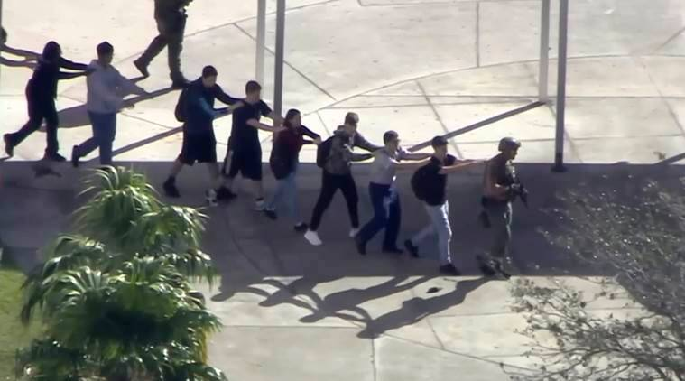 Florida shooting: Ex-student kills 17 at Marjory Stoneman Douglas High School in US, arrested