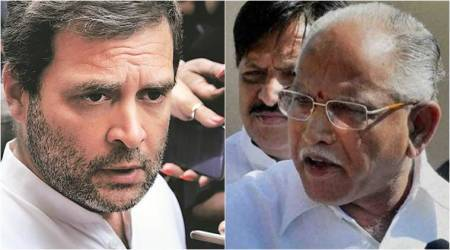 Yeddyurappa hits back at Rahul Gandhi for his rear view remark against PM Modi