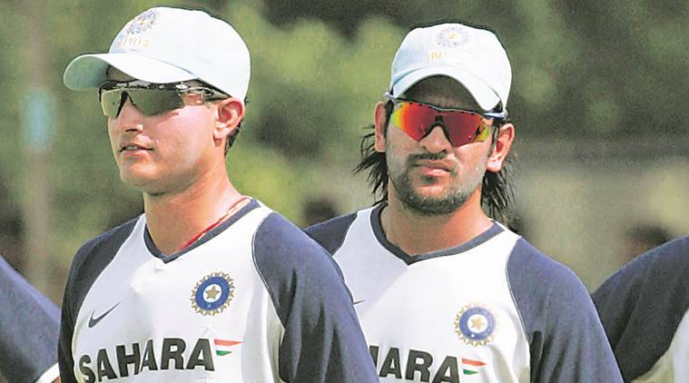 At the time of Dhoni's rise in the Indian ranks, the urban and English-speaking players — Tendulkar, Rahul Dravid, Ganguly, Kumble — were still seen as leaders, the likes of Dhoni, Sehwag, Harbhajan Singh, Munaf Patel were expected to be the soldiers who followed instructions. (Express Archive)