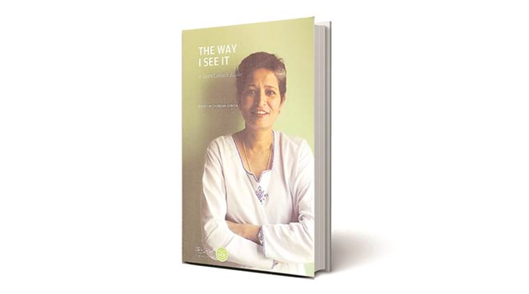 gauri lankesh, chandan gowda author, book review, the way i see it book, gauri lankesh reader review, gauri lankesh patrike, indian express